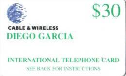 DIEGO GARCIA / DGA - R 02 / First Remote Cards Issue - Diego-Garcia