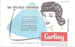 Buvard  Une Tres Belle Permanente  Curling - Parfums & Beauté