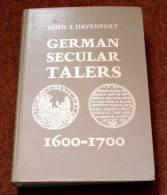DAVENPORT , GERMAN SECULAR TALERS 1600 - 1700 - Literatur & Software