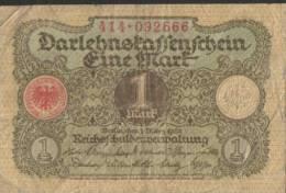 Deutsches Reich - 1 Mark Gebraucht (C687) - [ 3] 1918-1933 : République De Weimar