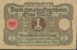 Deutsches Reich - 1 Mark Gebraucht (C688) - 1918-1933: Weimarer Republik