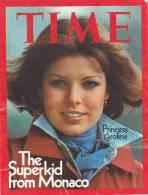21738 Calendrier Petit Format 6.5x8.5cm, 1976, Time, Princesse Caroline Monaco. - Petit Format : 1971-80