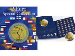 2Einklick-Alben Für 57 Neue 2EURO-Sondermünzen Plus 10 Jahre WWU 2009 Set 18€ Für 20 Münzen Der Verschiedenen Euroländer - Other Collections