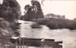 21739  Trois Cpsm (petit Format) Pezou, Vue Du Loir CIM, Vue Sur Le 741 Cim, Bords Du Loir 7 Cim -barque