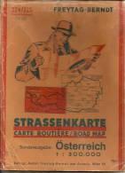 Carte Ref : 14-045. Strassenkarte Osterreich - Autriche - Roadmaps
