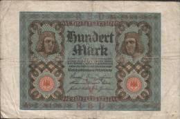 Deutsches Reich - 100 Mark Gebraucht (C696) - [ 3] 1918-1933 : République De Weimar