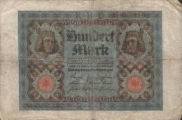 Deutsches Reich - 100 Mark Gebraucht (C697) - 1918-1933: Weimarer Republik