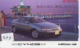 Télécarte JAPON * TOYOTA (877) Phonecard JAPAN * VOITURE * Auto CAR * TELEFONKARTE * - Auto's