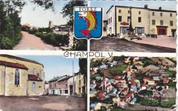 21741 Chalmpoly  L91083 Cellardmulti Vues  Hotel, Bar Tamain Vue Aerienne - France