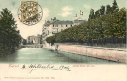 ZURICH      HOTEL BAUR AU LAC - ZH Zurich