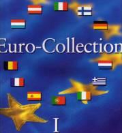 Münz-Album Band I Für €-Sets Ab 2002 Aller EURO-Länder 9€ Blau Für 12 Sätze A B D E Eire F GR I L NL P SF Zum Einklicken - Alben & Binder