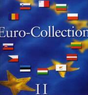 Münz-Album Band II Für €-Set Ab 2008 Neue EURO-Länder 9€ Für 12 Sätze BG CZ CY EST LV LT H M PL RO SLO SK Zum Einklicken - Alben & Binder