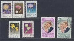 Pitcairn 1973 -  Année Complète   ***  MNH - Pitcairn