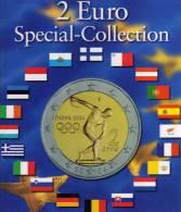2€-Münz-Album Europa 2004-2013 Neu 9€ Für 57 Der Neuen 2 EURO-Sondermünzen Aller Verschiedenen Euroländer Zum Einklicken - Alben & Binder