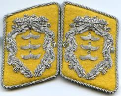 2 Insignes De Col De Colonel De La Luftwaffe, Reproduction Moderne - Uniforms