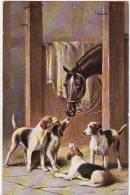 """CHIENS -  Carte Illustrée Par Reichert  -  """" Oilette"""" - Honden"""