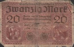 Deutsches Reich - 20 Mark Gebraucht (C703) - 1871-1918: Deutsches Kaiserreich