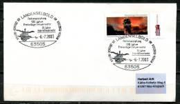 "Germany 2003 Sonderbeleg Feuerwehr  Mi.Nr.2275 U.SST""63505 Langenselbold-100 Jahre Freiwillige Feuerwehr  ""1 Beleg - Accidents & Road Safety"