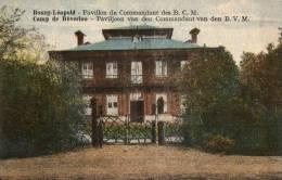 BELGIQUE - LIMBOURG - BOURG-LEOPOLD - LEOPOLDSBURG - Pavillon Du Cdt Des B.M.C. - Paviljoen Van Cdt Van Den B.V.M. - Leopoldsburg