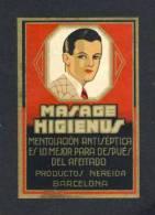 Etiquette De Parfumerie: MASAGE HIGIENUS, After Shave (6 X 9 Cms) (Ref. 99689) - Etiquettes