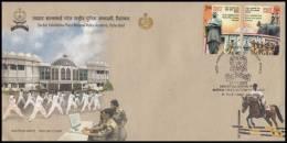 India 2008, FDC Cover Sardar Vallabhbhai Patel National Police Academy Hyderabad, Mi. 2313-2314 - FDC