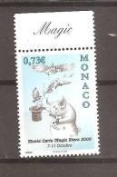 MONACO 2009 MAGIC DAY OF THE STARS MNH - Unused Stamps