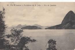 RIO DE JANEIRO - PAO D'ASSUCAR E FORTALEZA DE S. JOAO - Fortaleza