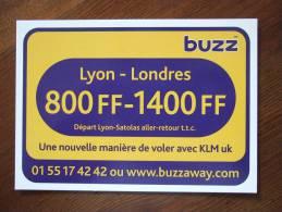 Www.buzzaway.com Airlines Carte Postale - 1946-....: Moderne