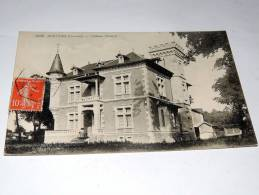 Carte Postale Ancienne : HOSTENS : Chateau Pirinski - Andere Gemeenten