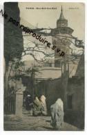 -  TUNIS - Rue Sidi Ben Ziad - écrite, Belle Animation, 1905, Un Peu De Couleur, Peu Courante, Bon état, Scans. - Tunesien