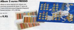 Collector-Album Tome 2€-Europa 2004-2013 Neu 9€ Für 57x 2EURO-Sondermünzen Aller Verschiedenen Euroländer Zum Einklicken - Alben & Binder