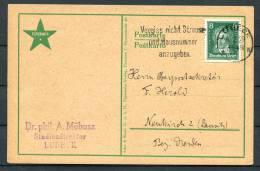 1929 Germany Esperanto Lubeck Postcard - Esperanto