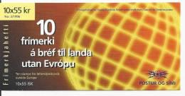 Islande 1996 Carnet C 798 Europa Femmes - Libretti
