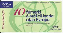 Islande 1995 Carnet C 778 Europa Paix Et Liberté - Markenheftchen