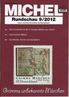 MICHEL Briefmarken Rundschau 9/2012 Neu 5€ New Stamps Of The World Catalogue And Magacine Of Germany - Passatempi Creativi