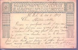 RZ2126 - CARTOLINA POSTALE SVIZZERA - TASSATA ALL'ARRIVO IN ITALIA - A 1909 - Lettres & Documents