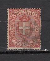 ITALIE °  YT N° 56 - 1878-00 Humbert I