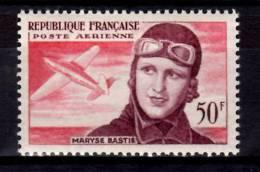 France 1955 50f Maryse Bastie Issue #C33 - 1927-1959 Mint/hinged