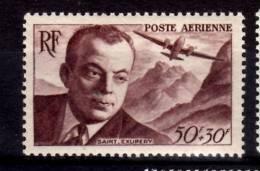 France 1948 50 + 30f Antoine De Saint-Exupery Issue #CB1 - Airmail
