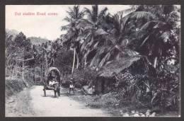 SR42) Ceylon - Out Station Road Scene - Sri Lanka (Ceylon)