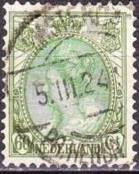 1899 Koningin Wilhelmina 60 Cent Olijfgroen En Groen NVPH 76 Met Langebalkstempel AMSTERDAM PR. HENDR. KADE - Poststempels/ Marcofilie