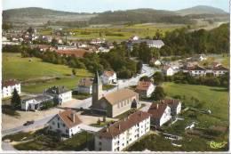 Z 898 CPM SAULCY SUR MEURTHE PLACE DE L'EGLISE  VUE  AERIENNE - Autres Communes
