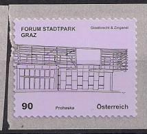 2012.05 Austria Mi. 2990**MNH   Forum Stadtpark Graz Gieselbrecht & Zinganel  Folienstamp - 1945-.... 2nd Republic
