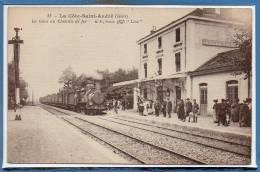 38 - La COTE SAINT ANDRE --  La Gare Du Chemin De Fer - Editori