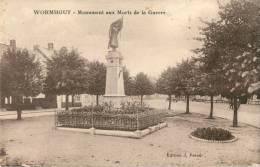 59 WORMHOUT - MONUMENT AUX MORTS DE LA GUERRE - Wormhout