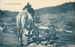 A . O . F  UN COURRIER - Cartes Postales