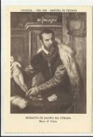 Venezia 1935 XIII Mostra Del Tiziano Cartolina RITRATTO DI JACOPO DA STRADA MUSEO DI VIENNA - Non Classificati