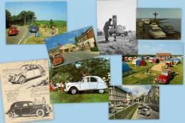 PostCARds Auto CITROEN 2CV, Lot De 8 Cartes Postales 2008, Collection Mcarpedi - Turismo