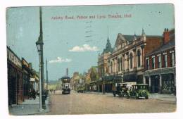 UK1582 :  HULL : Anlaby Road, Palace And Lyric Theatre - Hull
