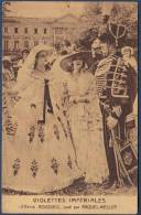 Carte Postale Film Cinéma Muet Violettes Impériales Henry Roussell Raquel Meller Actrice Espagnole 1924 Première Version - Actors